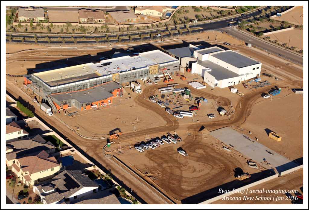 New Construction Aerial