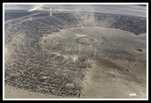 Burning Man 2019 Aerial View