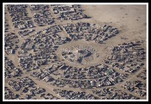 Aerial View Burning Man 2019