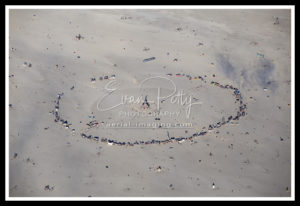 Burning Man Aerial View 2019