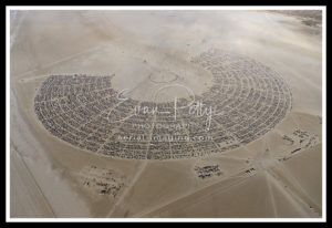 2019 Aerial Photography Burning Man