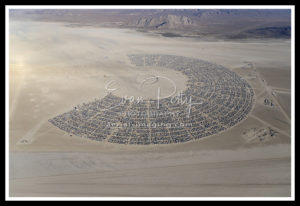 Burning Man Aerial Photography 2019 Black Rock City