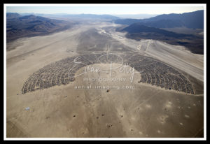 2019 Black Rock City Aerial View Burning Man