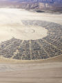Burning Man Aerial Print