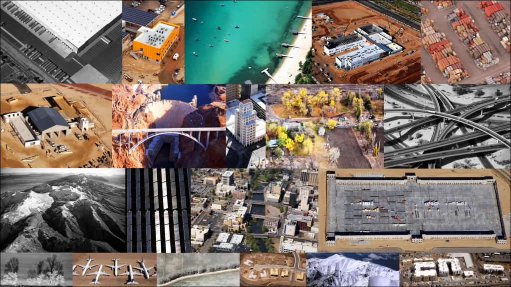 Aerial Photography Collage