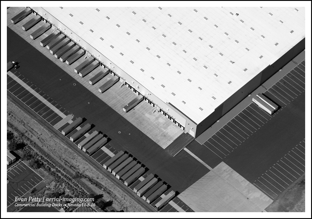 Aerial Industrial CRE Photography Nevada