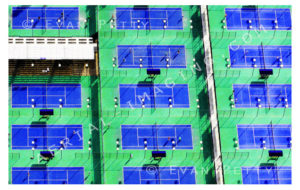 Bright Tennis Courts in AZ