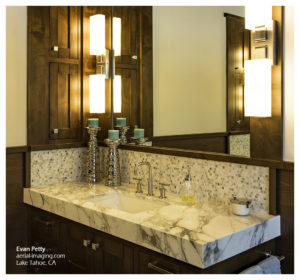 Tahoe Home Bathroom Commercial Photography