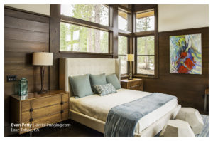 Tahoe Home Bedroom Commercial Photography