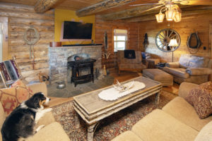 Interior Living Photography - Ranch Photographer