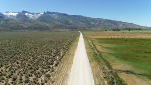 Lamoille Aerial Road View