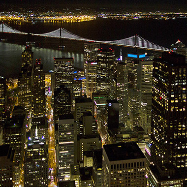 Night Aerial Photography
