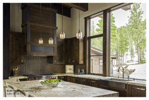 Tahoe Home Kitchen Commercial Photography