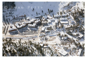 Squaw Valley Village Aerial