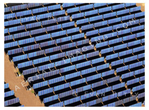 Solar Panels in the Sun