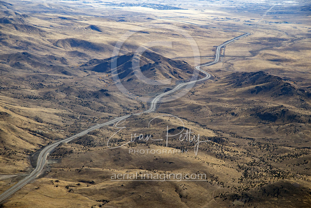 USA Parkway Aerial Nevada Infinity Highway