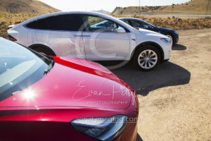 Tesla Cars in Nevada Photography