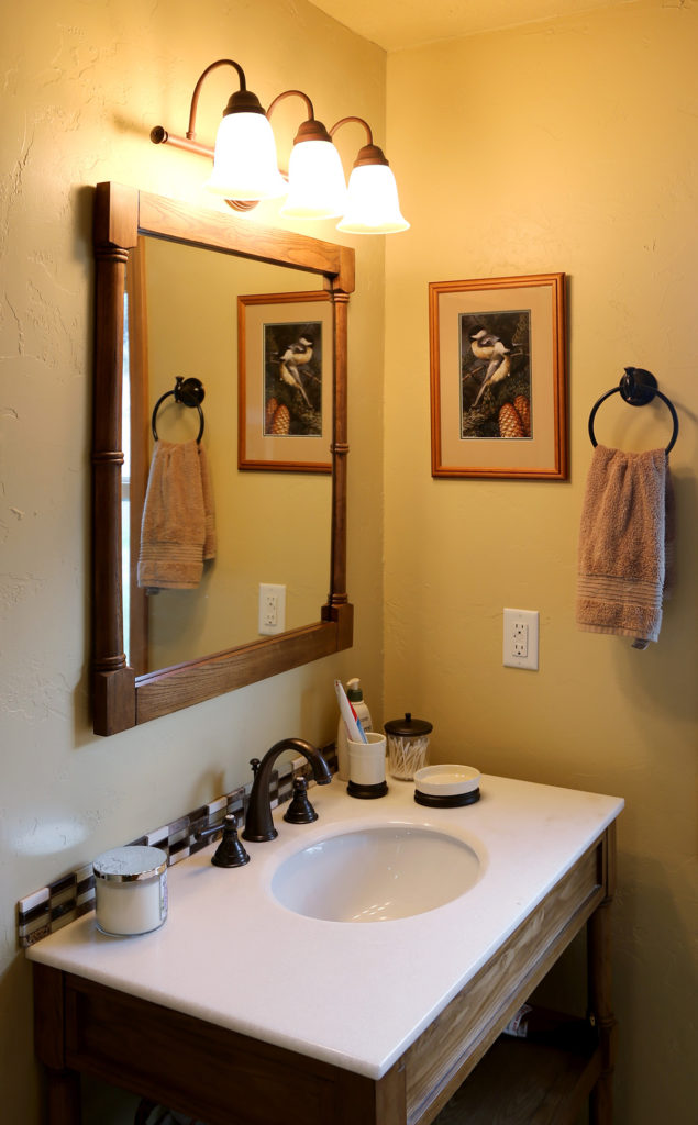 Interior Photoshoot Ranch Bathroom