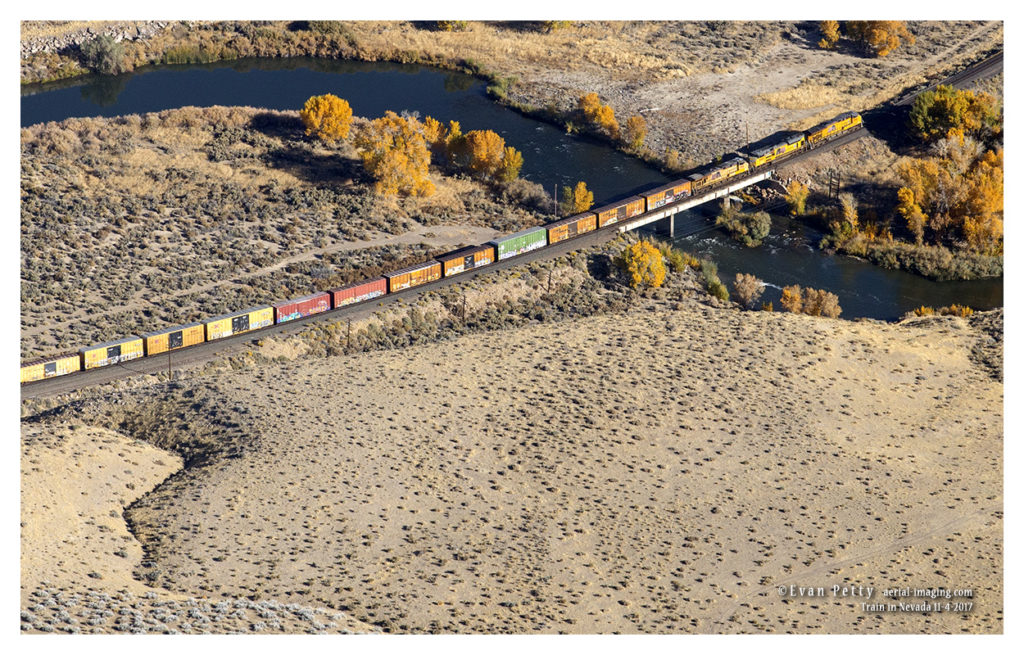 Train by Air in Nevada