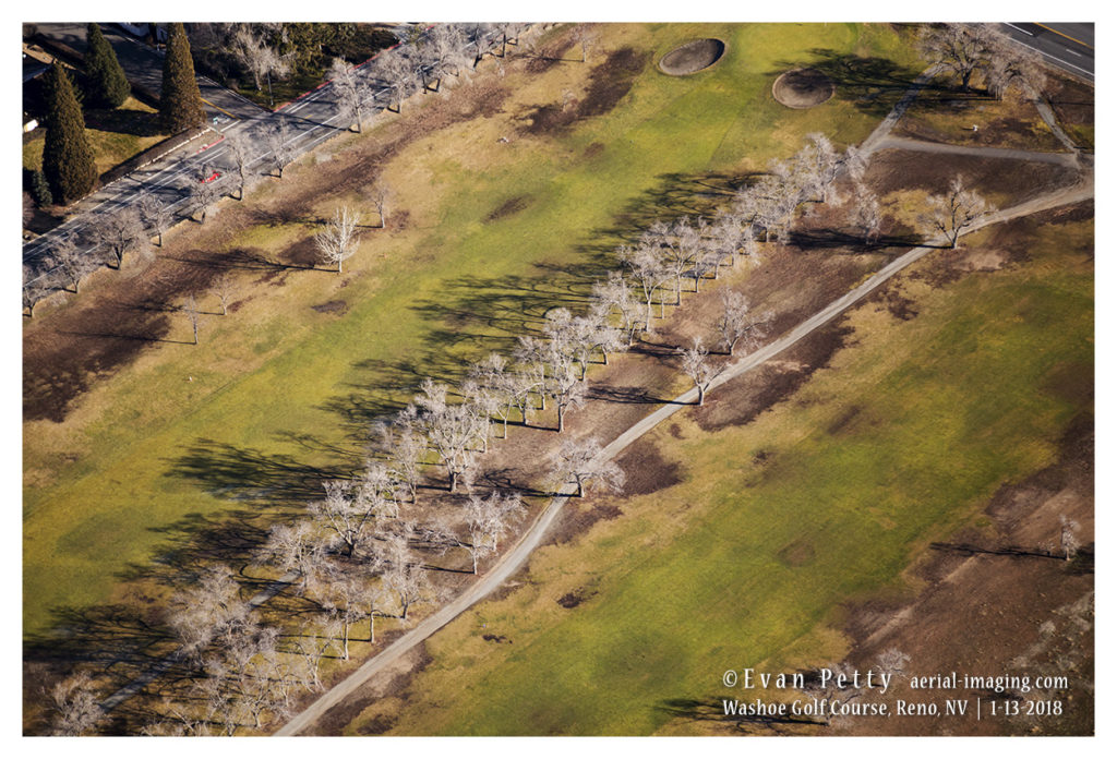 Washoe Golf Course Aerial