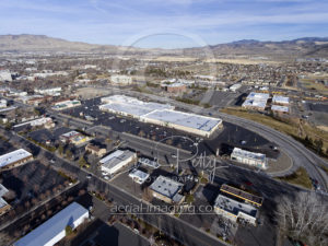 Drone View Retail Shopping Center Photographer