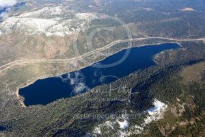 Donner Lake Aerial