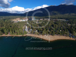 Beautiful Tahoe Beach Aerial Photographer