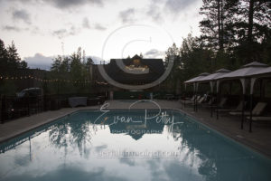 Poolside stock resort photography Lake Tahoe