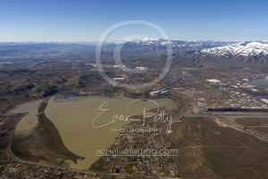 Reno Area Flooding Aerial View