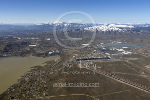 Reno Flooding Aerial View