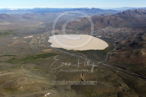 Reno White Lake Aerial