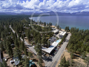 Aerial View South Lake Tahoe drone photographer