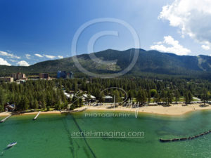 Aerial photographer drone Lake Tahoe