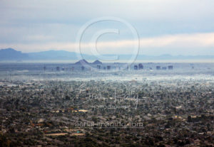 Phoenix Aerial Photography View
