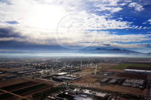 Aerial Photography View Phoenix Arizona