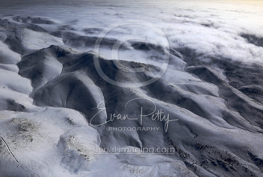 Spectacular Cloud Aerial Photography in Northern Nevada