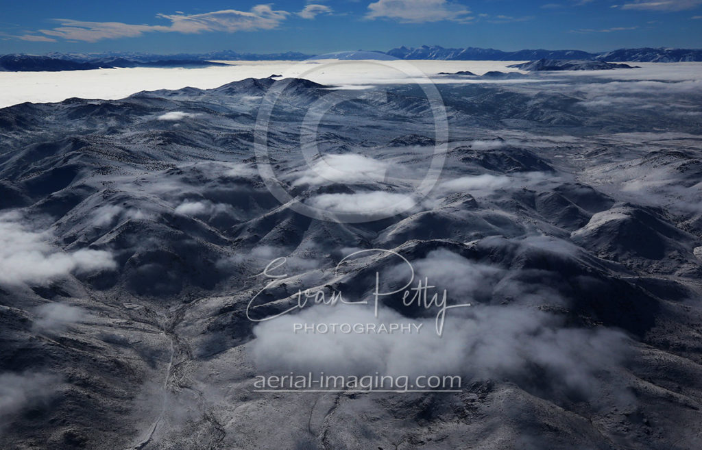 Aerial Photography of Clouds in Nevada