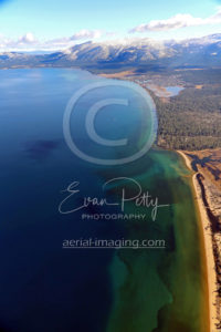 Lake Tahoe Coast Aerial