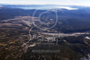 Truckee CA Aerial View