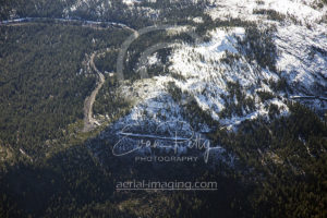 Truckee Train Tunnels Aerial