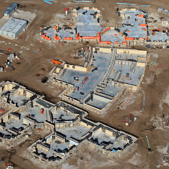 Northern NV State Veterans Home Construction Aerial Update