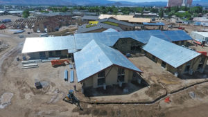 Building Aerial View NV State Veterans Home Drone