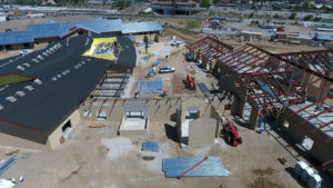 Drone Aerial Reno NV Veterans Home Construction