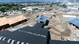 Aerial Image NV Veterans Home Construction