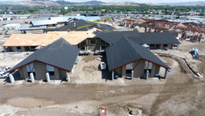 Construction Drone Aerial - NV Veterans Home Reno
