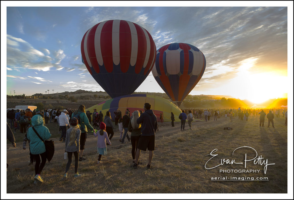 Reno Balloon Race 2018 Sunrise