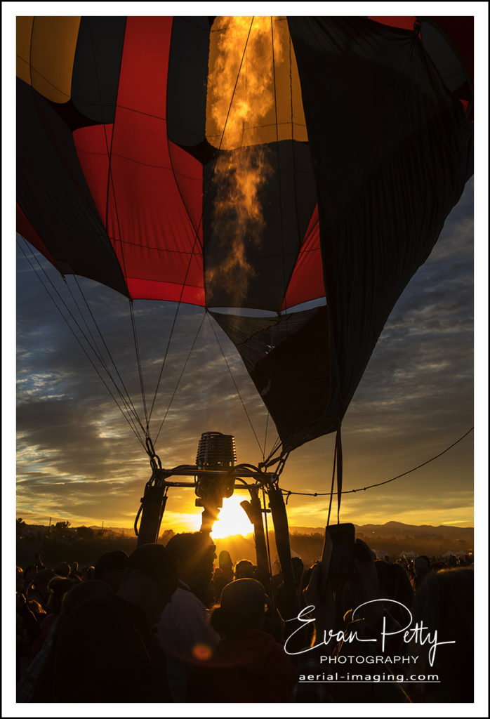 Glow Sunrise Reno Balloon Race 2018