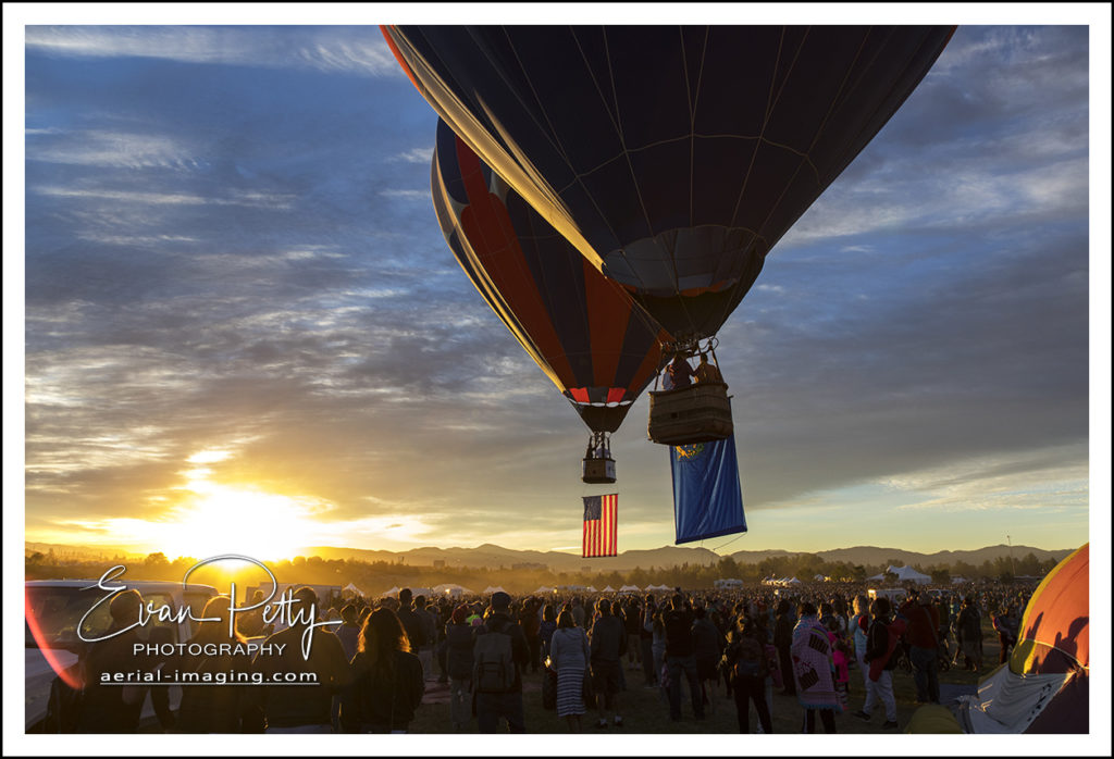 Balloon Flags Reno Balloon Race 2018 Photographer