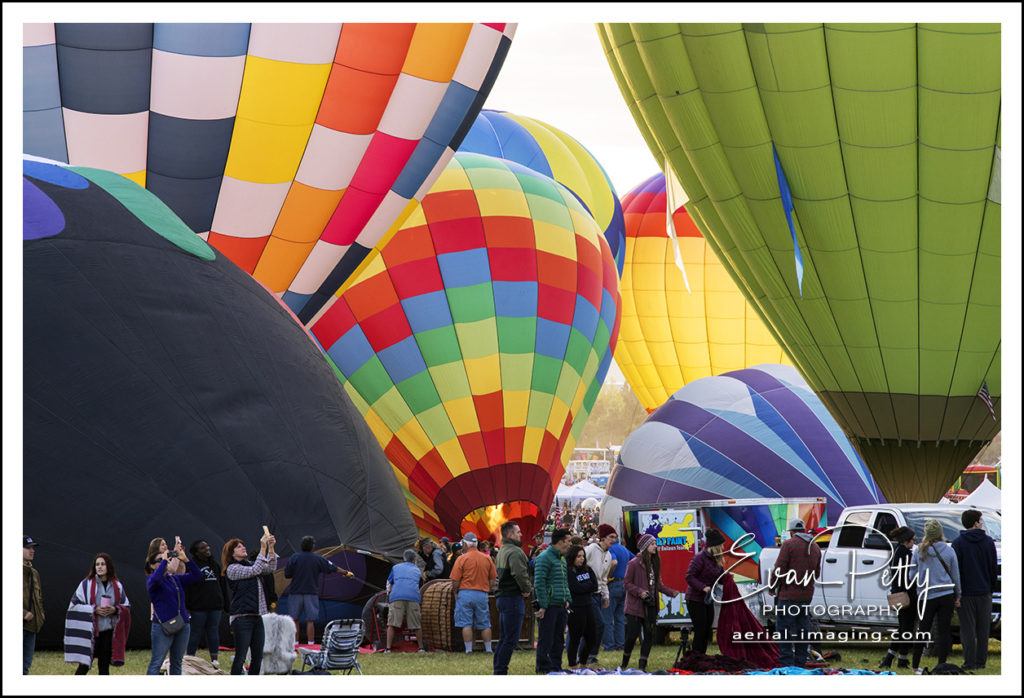 Group of Balloon Reno Balloon Race 2018