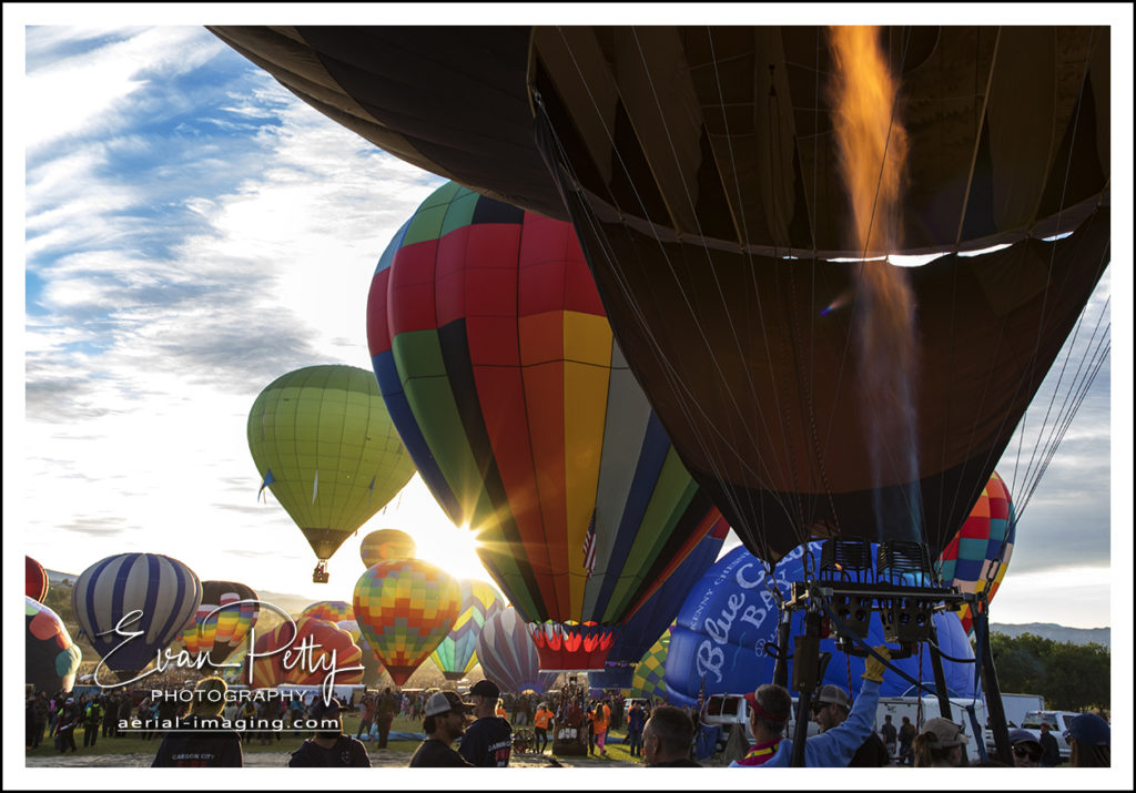 Balloon Lineup Reno Nevada Balloon Race 2018